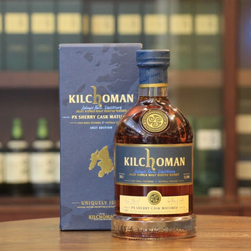 Kilchoman PX Cask Matured 2021 Single Malt Single Cask Islay Whisky