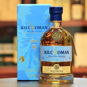 Kilchoman 2010 Vintage Single Malt Islay Whisky