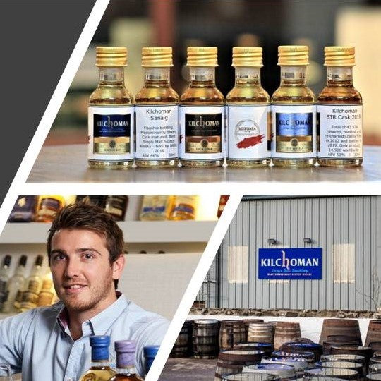 Kilchoman Whisky Tasting with Peter Wills July 30th 2020 8:00 p.m.