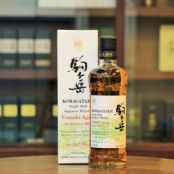 A very well aged Japanese Single malt Whisky from Shinshu mars which has then been aged in Kagoshima Japan. Now available at Mizunara The Shop in Hong Kong