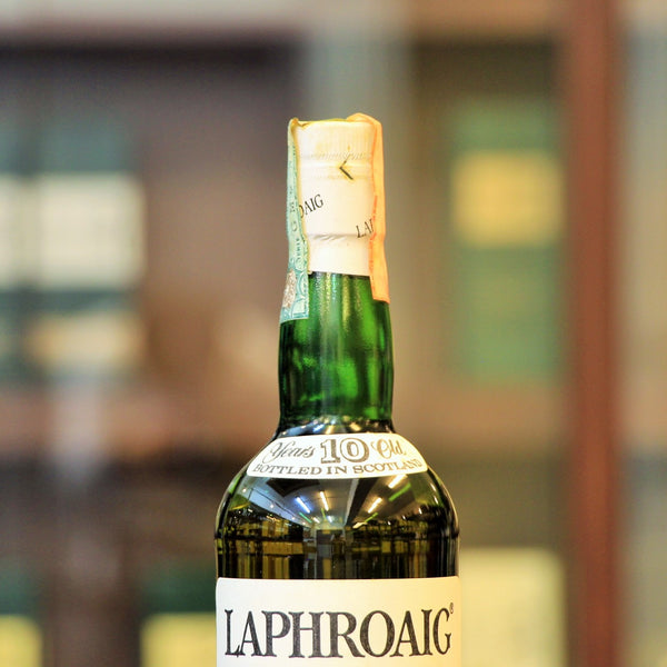 Laphroaig 10 Years Old Scotch Single Malt Whisky (1990s Bottling Pre-Warrant)