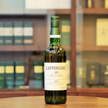 Laphroaig 15 Years Old Scotch Single Malt Whisky (1990s Bottling Pre-Warant)