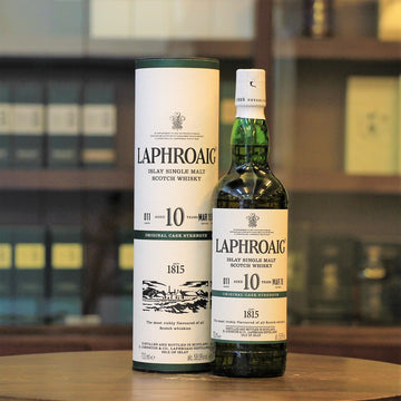 Laphroaig 10 Years Old Cask Strength Batch 11 Scotch Single Malt Whisky
