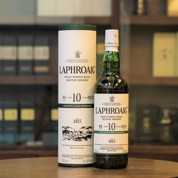 Laphroaig 10 Years Old Cask Strength Batch 12 Scotch Single Malt Whisky