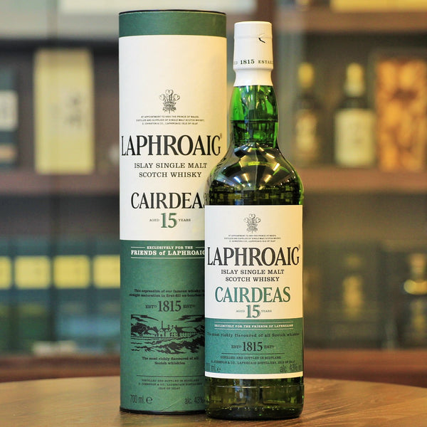 Laphroaig Single Malt 15 Cairdeas Scotch Whisky from Mizunara The Shop HK