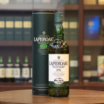 Laphroaig 18 Years Old Single Malt Scotch Whisky (Older Bottling)