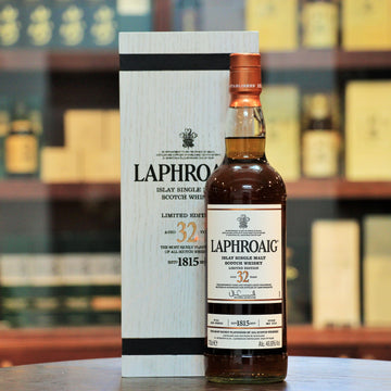 Laphroaig 32 Years 200th Anniversary Limited Edition Single Malt Whisky