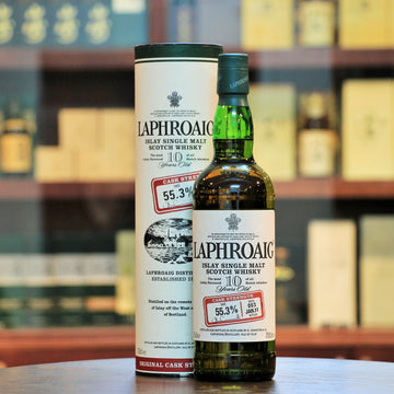 Laphroaig 10 Years Old Cask Strength Batch 3 Islay Single Malt Whisky