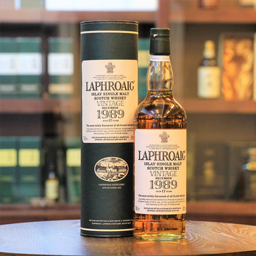 Laphroaig Vintage 1989 Feis Ile 2007 Release Single Malt Whisky 17 Years