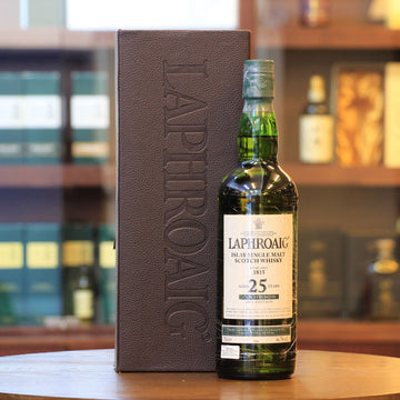Laphroaig 25 Cask Strength 2012 Release Scotch Single Malt Whisky