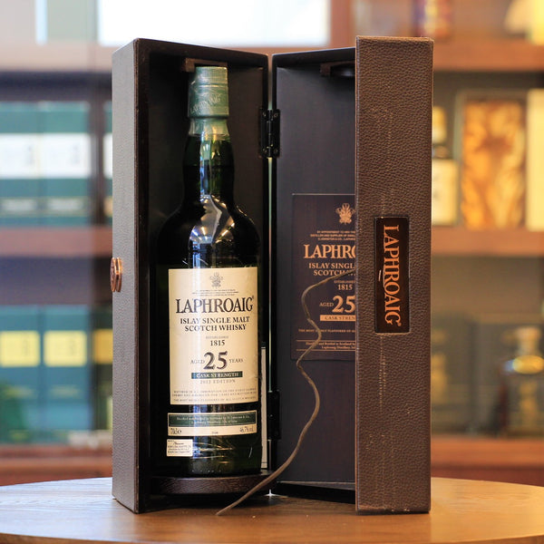 Laphroaig 25 Cask Strength 2012 Release Single Malt Scotch Whisky