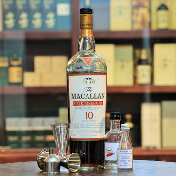 Macallan 10 Year Cask Strength Single Malt Whisky (30 ml Sample)