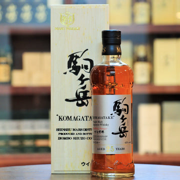 Mars Komagatake Single Malt 25 Years Old