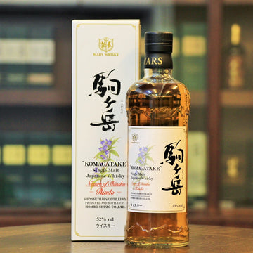 "Mars Komagatake Single Malt Japanese Whisky Nature of Shinshu ""Rindo"""