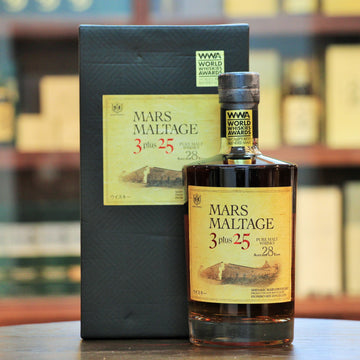 Mars Maltage 3 Plus 25 Pure Malt Whisky 28 Years Old