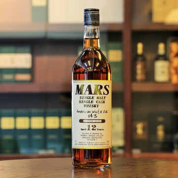 Mars Single Malt Single Cask 1143 American White Oak 12 Years Old