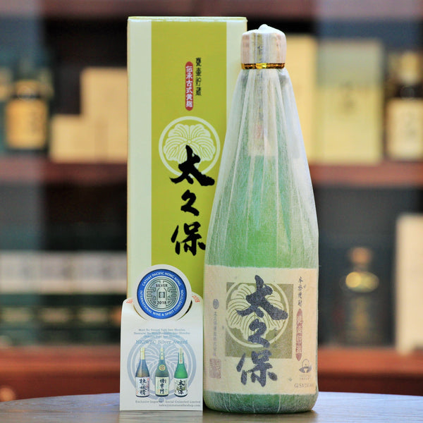 Kikoji Ookubo Limited Edition Imo (Sweet Potato) Shochu, Made from Baked Sweet Potato and Yellow Rice Malt. In the past, original Kagoshima Shochu used to be made from Kikoji (yellow koji) which has a special and prime taste. Inheriting this age old tradition,