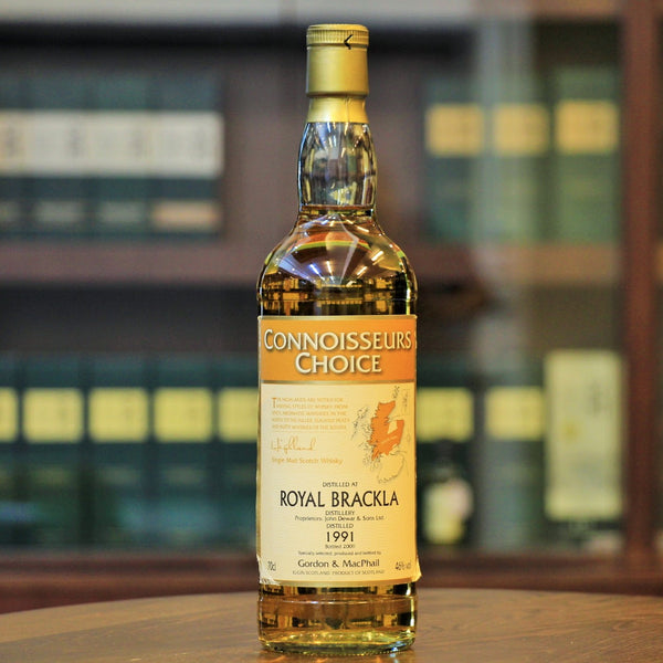 Coonnoissers Choice Single Malt Whisky by G&M and avaialble at Mizunara The Shop Hong Kong