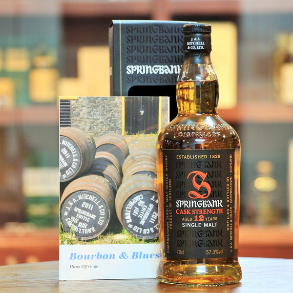Springbank 12 Cask Strength Single Malt Whisky Blues Edition (Hans Offringa)