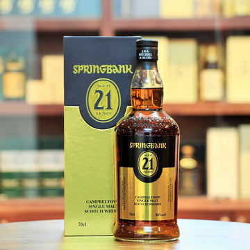Springbank 21 Years Old 2019 Campbeltown Single Malt