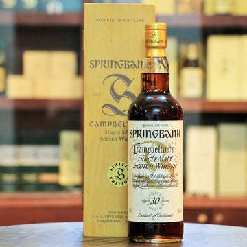 Springbank 30 Year Old Single Malt Whisky Millennium Collection