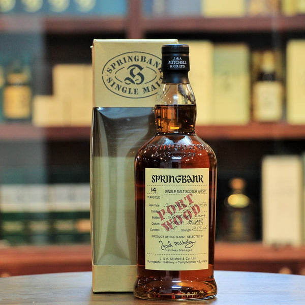 Springbank 1989 Port Wood 14 Years,A special bottling which has been finished for two years in fresh port pipes.