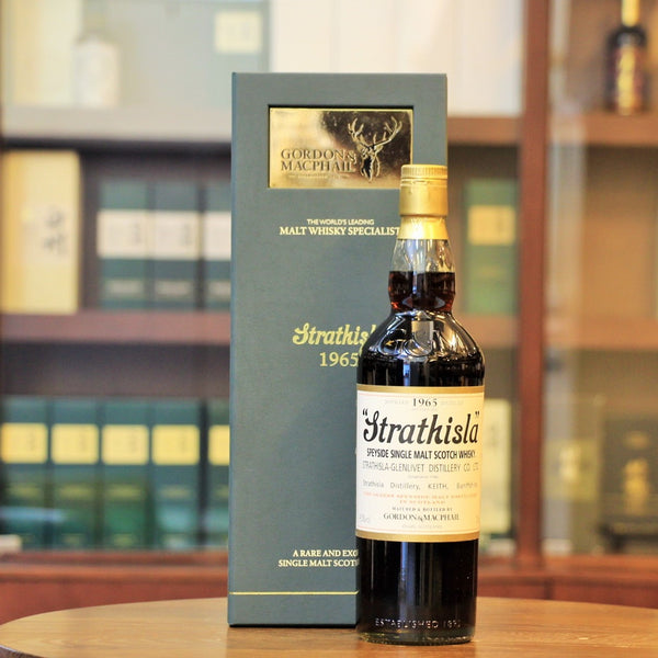 A rare and vintage Speyside single malt whisky from Strathisla distillery, is distilled in 1965, matured in First-fill sherry Puncheon #3474 and bottled by Gordon & Macphail in 2016. Tasting notes from G&M