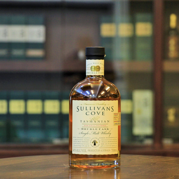 Rare Tasmanian Single Malt Whisky from Sullivans Cove Double Cask Hong Kong