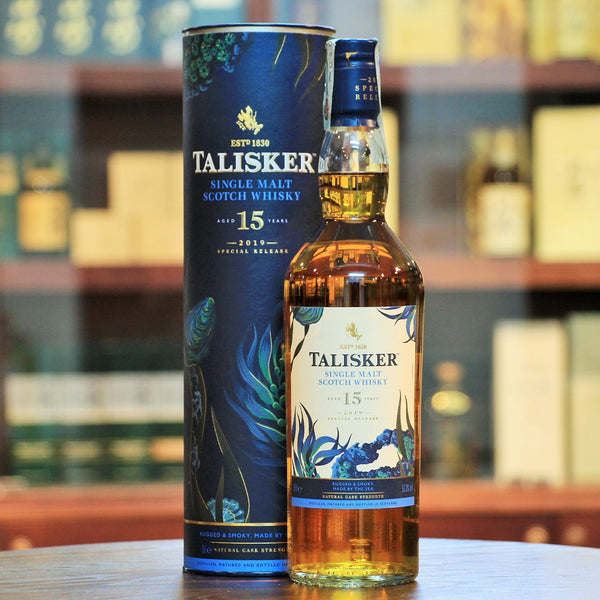 Talisker 2002 Special Release 2019 Single Malt Whisky 15 Years Old, This is an earthy single malt with an abundance of ripe citrus and plenty of warming spices.