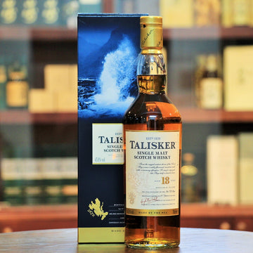 Talisker 18 Years Single Malt Scotch Whisky