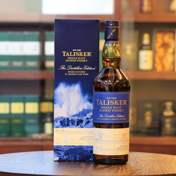 Talisker, Scotch Single Malt, Island of Skype, Peated Whisky, Distiller's Edition 2005/2015, 10 Years old, Peated Whisky