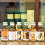 This tasting pack showcases the much The Rare and Vintage 30 Year old Single Malt Whisky from Scotland and Japan.