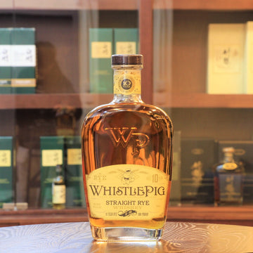WhistlePig 10 Year Old Straight Rye Whiskey 100 Proof