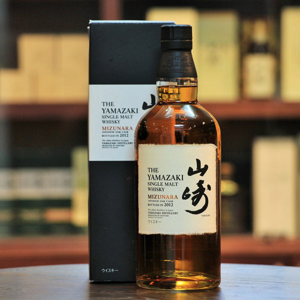Yamazaki Mizunara Cask Single Malt (2012), Matured in casks made of Japanese Mizunara Oak, which is considered to be hard to work with. Mizunara Oak gives a distinctive coconut and sandalwood flavour to the whisky. Malt Advocate 19th Annual Awards: Best Japanese Whisky of the Year