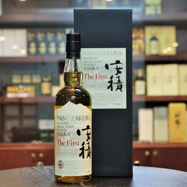 The First limited Edition and collectible whisky from the Asaka Distillery from Sasanokawa Shuzo in Japan. A Japanese Single Malt Whisky available on Mizunara The Shop Hong Kong