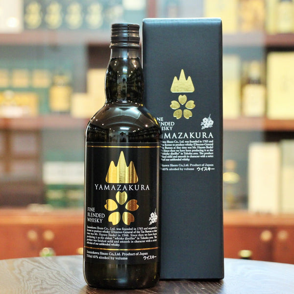 Fine Blended Whisky which is great for a dram in the evening . Available from Mizunara The Shop in Hong Kong