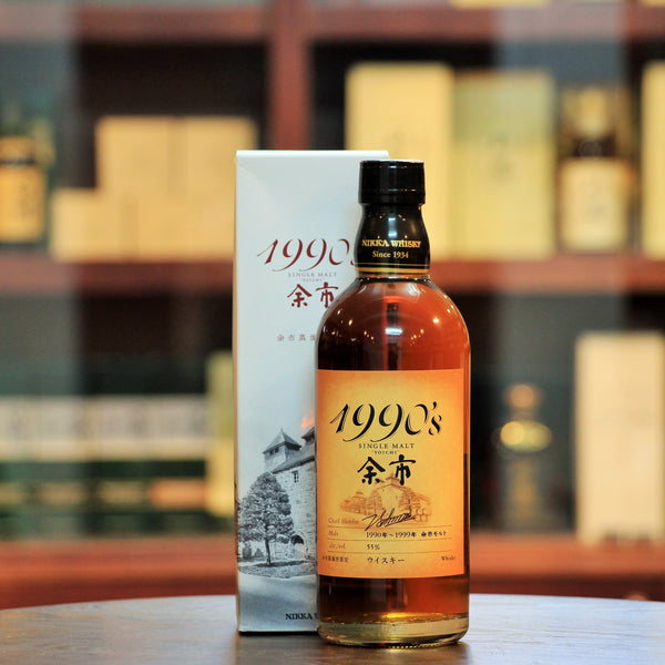 Nikka Yoichi 1990s single malt whisky distillery exclusive from Mizunara The Shop HK