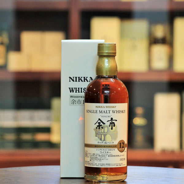 "Yoichi Key Malts ""Woody & Vanillic"" 12 Years Old Single Malt Whisky"