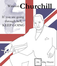 Load image into Gallery viewer, Sir Winston Churchill: Fascinate Journey - From the early years to an end