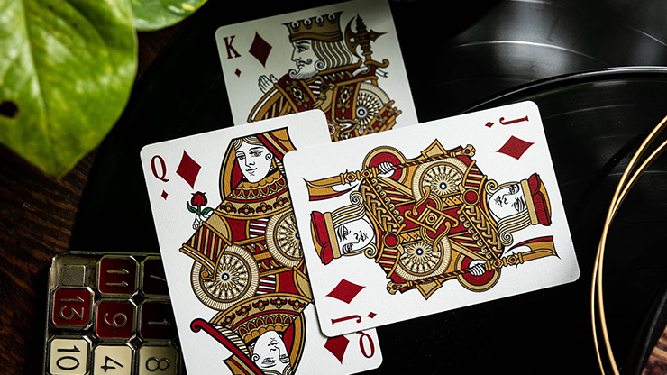 Bicycle Scarlett - Kings Wild - BAM Playing Cards (5881803374741)