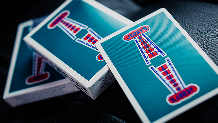 Jerry's Nuggets - Vintage Feel Aqua - BAM Playing Cards (5679011889301)