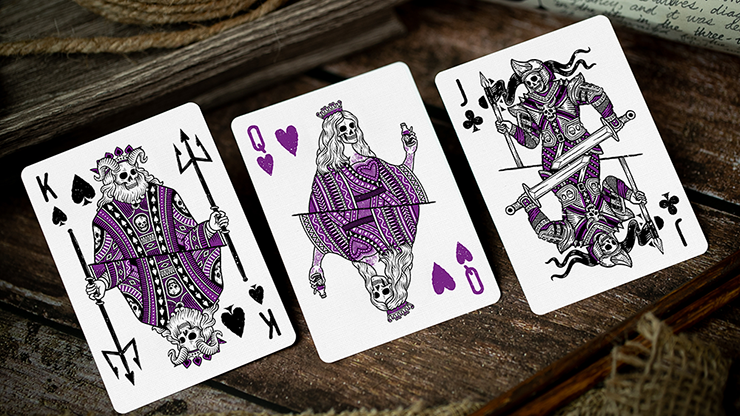 666 Dark Reserves - Purple - BAM Playing Cards