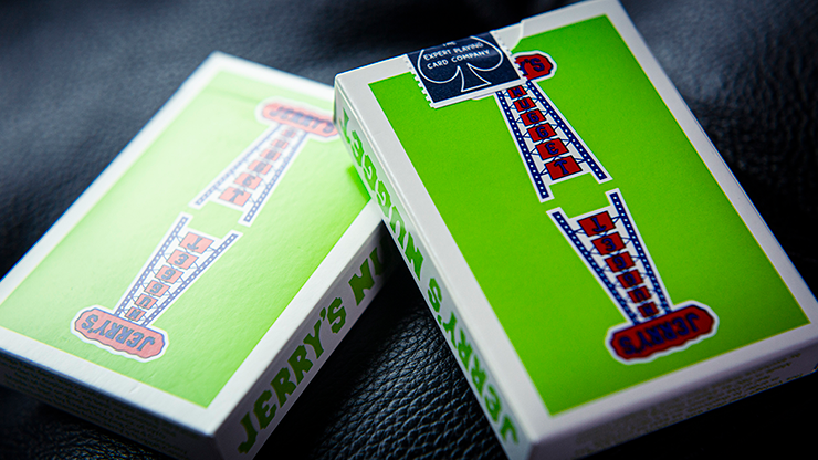 Jerry's Nuggets - Vintage Feel Green - BAM Playing Cards