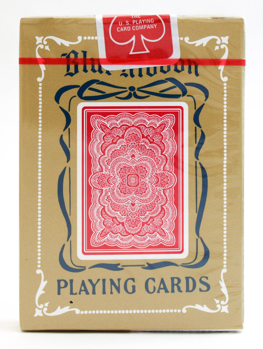 Blue Ribbon - Red - BAM Playing Cards