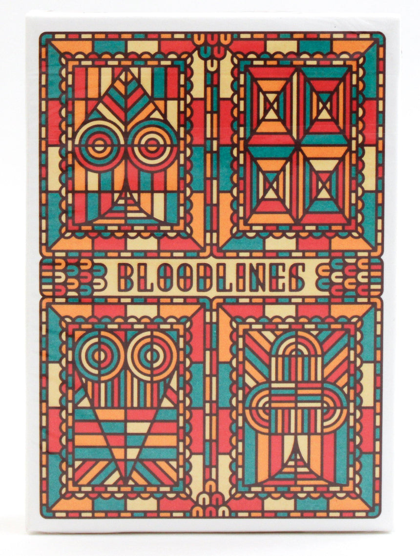 Bloodlines Red - BAM Playing Cards