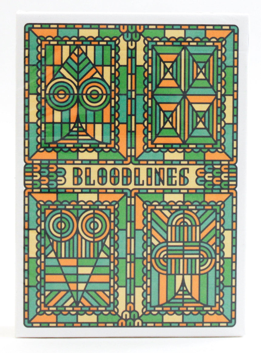 Bloodlines Green - BAM Playing Cards (5618722963605)