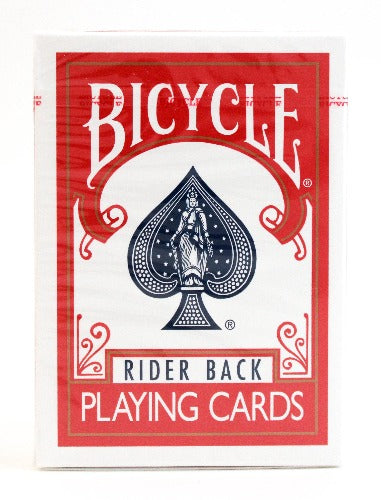 Bicycle Rider Back Red - BAM Playing Cards