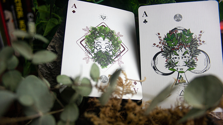 The Green Man Autumn - BAM Playing Cards (5710417690773)