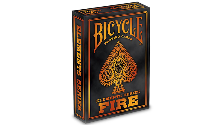 Bicycle Fire Playing Cards (6681294700693)