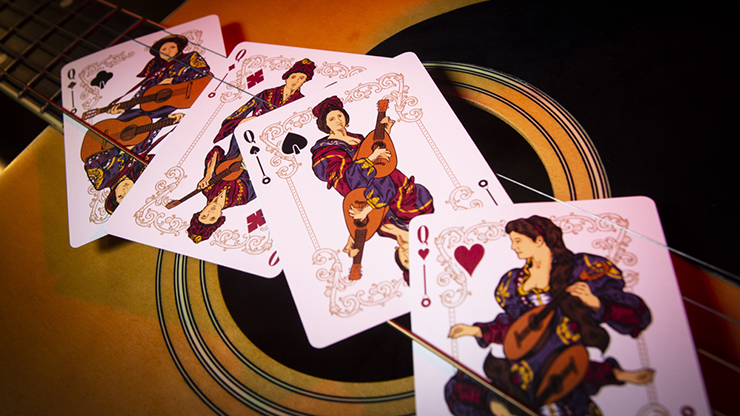Limited Edition Six Strings Playing Cards (6681294405781)